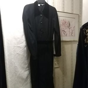 Valentino Boutique black wool dress